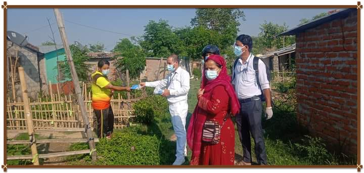 काेहलपुर ११ का जनप्रतिनिधि स्वास्थ्यकर्मी सहित दिनहु संक्रमितकाे घर घरमा